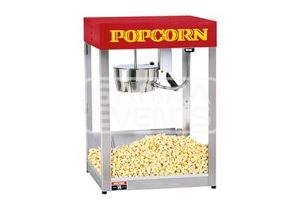 Popcorn apparaat huren