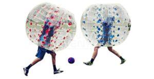 Bubble Voetbal losse bal volwassenen huren product