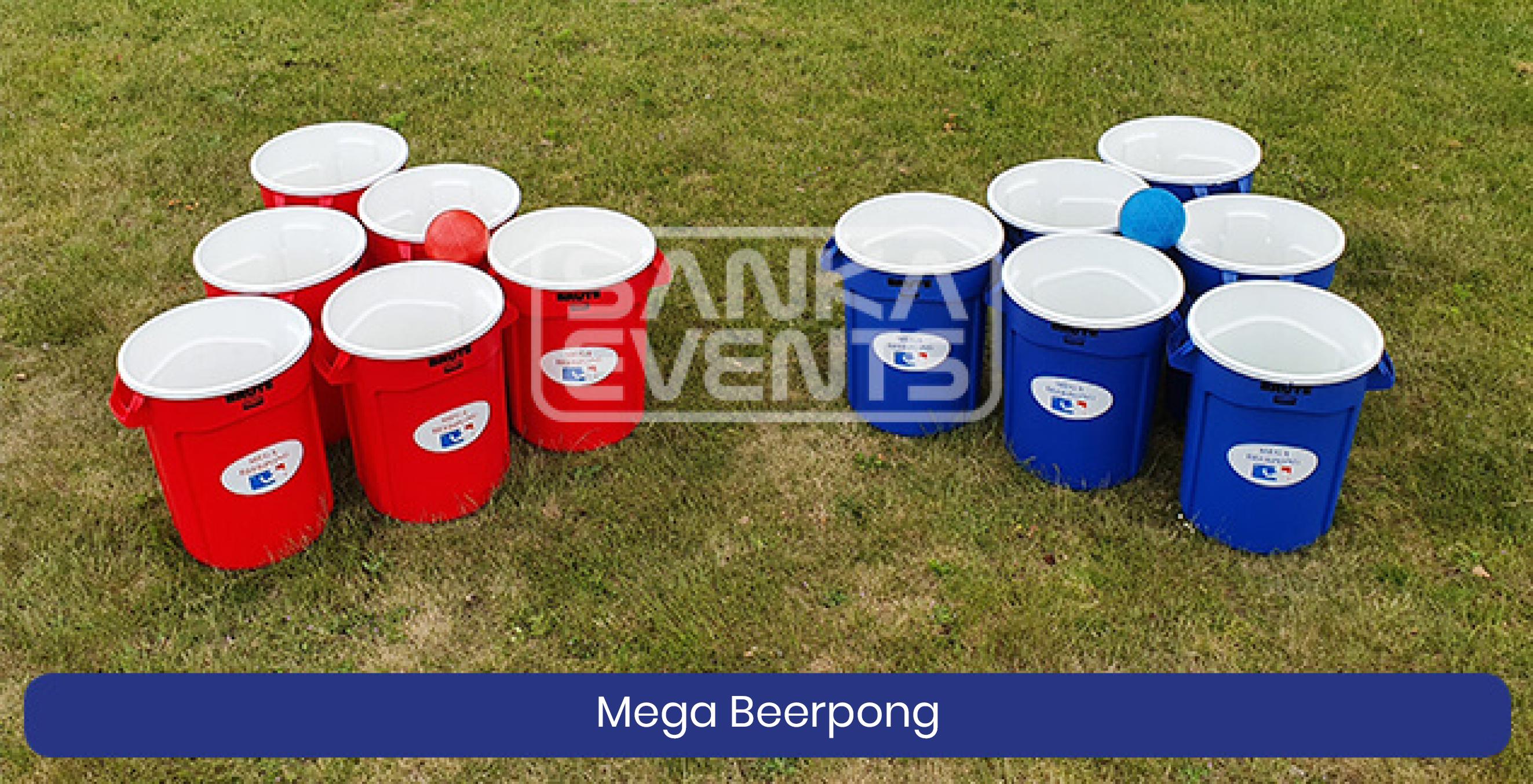 Coronaproof Spellenpakket Mega Beerpong