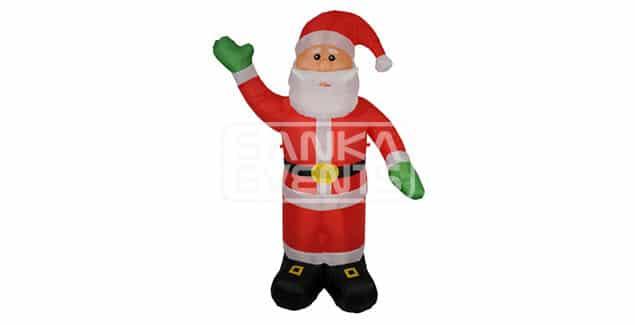 Opblaasbare kerstman huren product