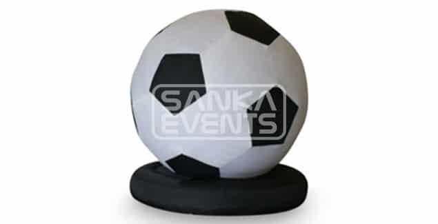 Opblaasbare voetbal huren product