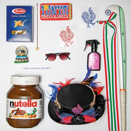Voorwerpen Alessia Titulaer
