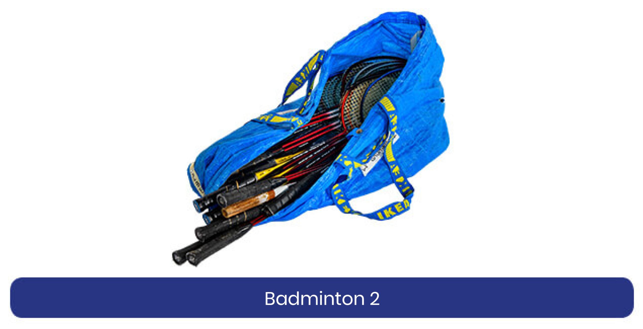 Badminton 2 lenen product