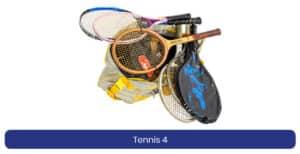 Tennis 4 lenen product