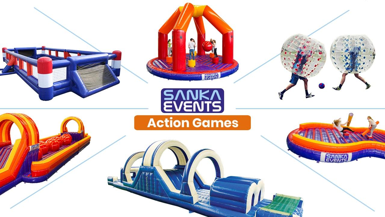 Coronaproof Sanka Actiongames video